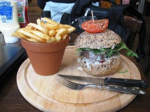 hamburger le houtsiplou