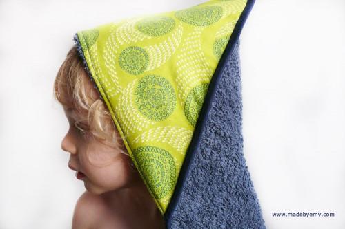 Made by Emy -sortie de bain bébé bleue citrus.jpg