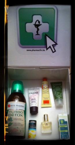 pharmaclic.be,pharmaclic,pharmacie en ligne,pack médicaments,trousse médicaments enfants vacances
