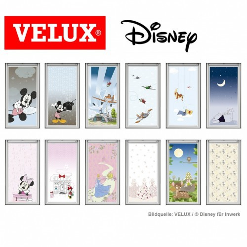un store velux disney. Black Bedroom Furniture Sets. Home Design Ideas