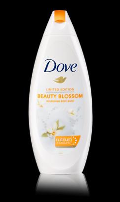 édition limitée Dove beauty blossom