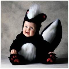 déguisement moufette bébé, funidelia