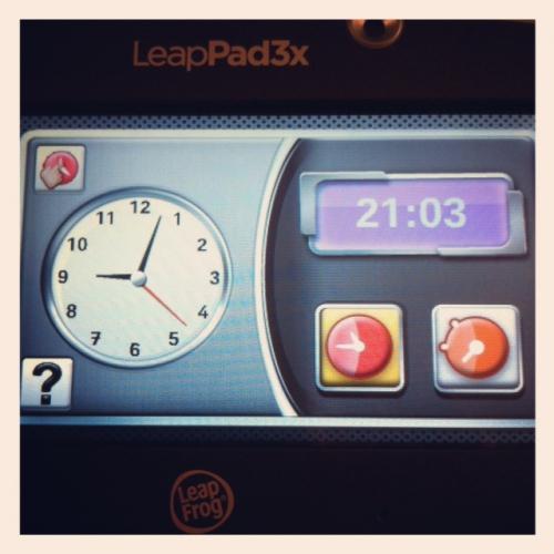 """leapad 3x, test et avis leappad """"x, leapfrog tablette, horloge leappad"""