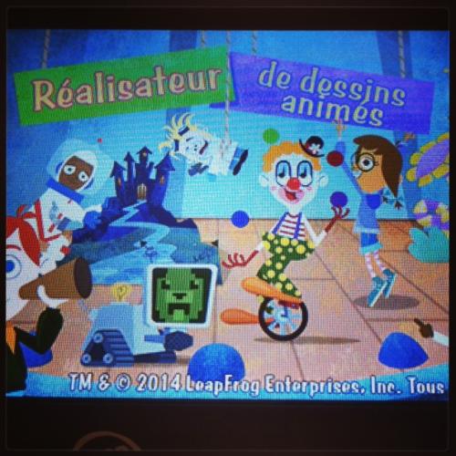 """leapad 3x, test et avis leappad """"x, leapfrog tablette, appli réalisateur dessins animés"""